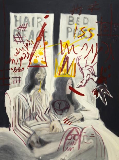 <em>Piss Painting 1</em>, 2009