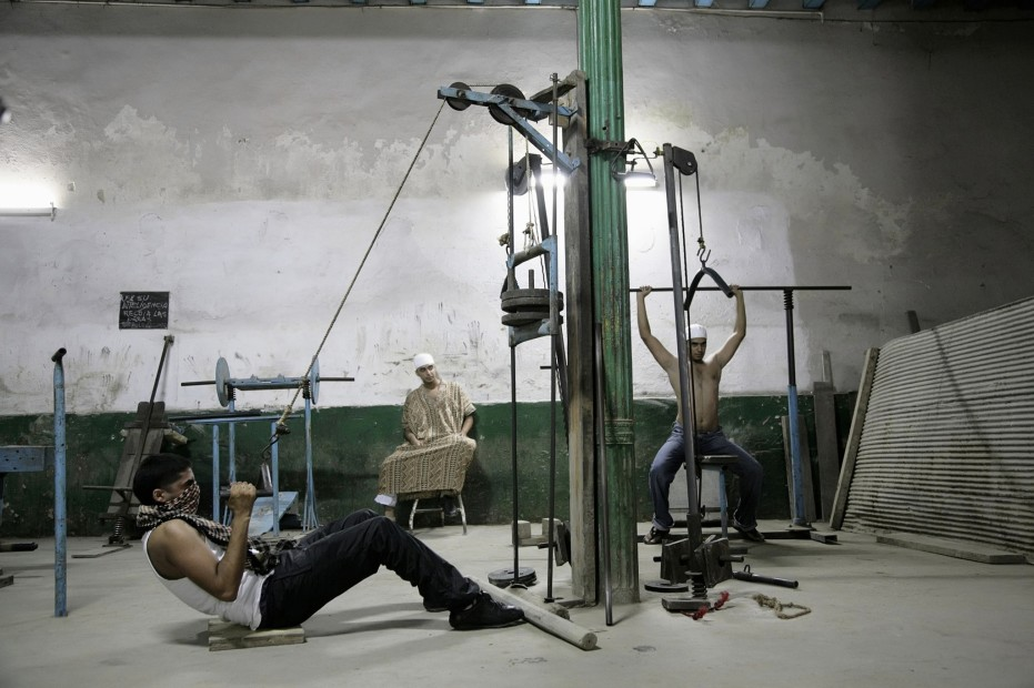 "<span class=""artist""><strong>Hasan and Husain Essop</strong></span>, <span class=""title""><em>Pushing Iron</em>, 2009</span>"