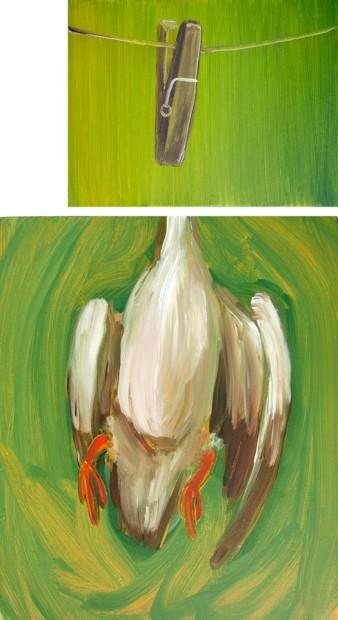 """<span class=""""artist""""><strong>Hesam Rahmanian</strong></span>, <span class=""""title""""><em>A Duck</em>, 2012</span>"""