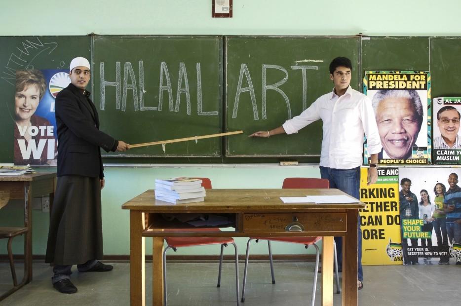 <span class=&#34;artist&#34;><strong>Hasan and Husain Essop</strong></span>, <span class=&#34;title&#34;><em>Halaal Art</em>, 2009</span>
