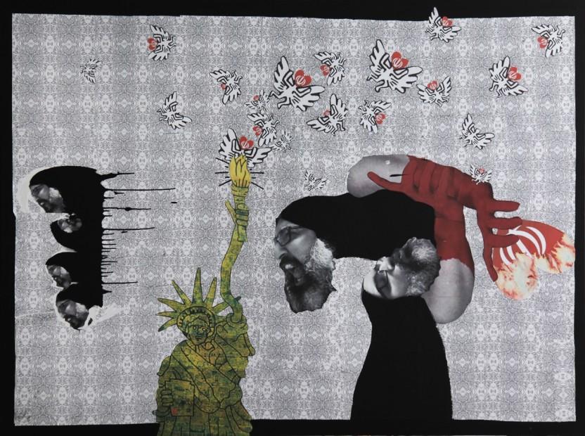 """<span class=""""artist""""><strong>Ramin Haerizadeh</strong></span>, <span class=""""title""""><em>Target 76</em>, 2010</span>"""
