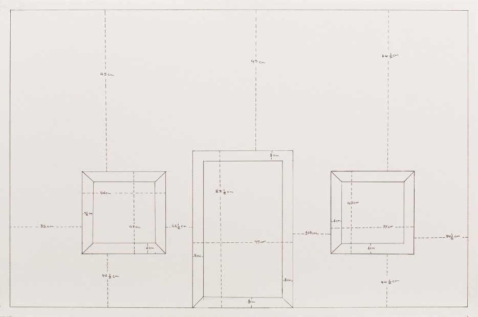 <span class=&#34;artist&#34;><strong>Mohammed Kazem</strong></span>, <span class=&#34;title&#34;><em>Measuring Walls</em>, 1998 (Reconstituted in 2014)</span>