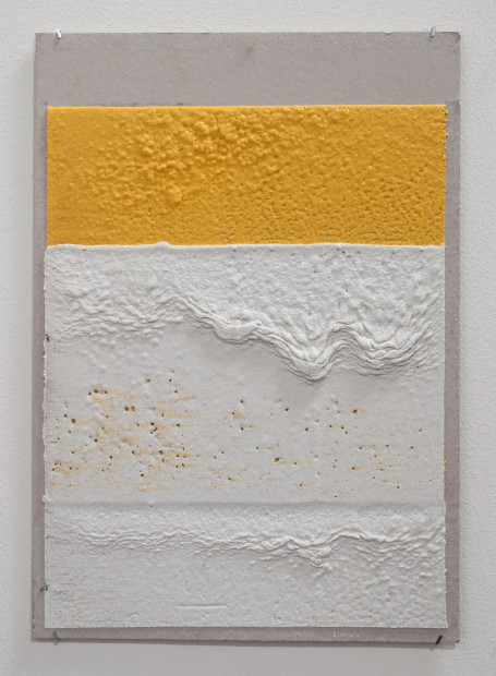 "<span class=""artist""><strong>Vikram Divecha</strong></span>, <span class=""title""><em>300mm (W), 2mm (T), Yellow, White, Random Mark, Hand Marking, Al Barsha South, Unnamed Street</em>, 2017</span>"