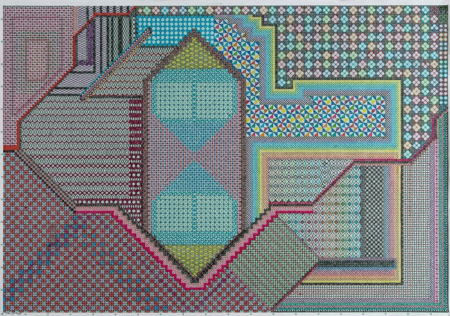 "<span class=""artist""><strong>Nargess Hashemi</strong></span>, <span class=""title""><em>Carpet</em>, 2014</span>"