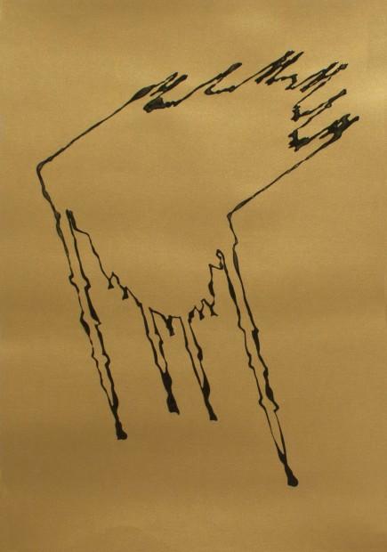 """<span class=""""artist""""><strong>Zoulikha Bouabdellah</strong></span>, <span class=""""title""""><em>Hybride</em>, 2015</span>"""