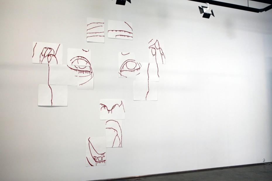 "<span class=""artist""><strong>Zoulikha Bouabdellah</strong></span>, <span class=""title""><em>The Scream</em>, 2012</span>"