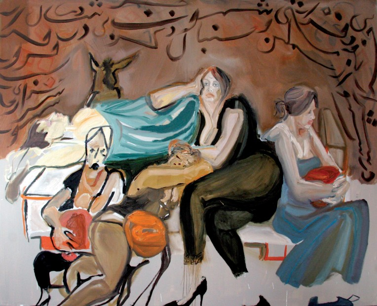 <span class=&#34;artist&#34;><strong>Rokni Haerizadeh</strong></span>, <span class=&#34;title&#34;><em>Masnavi Ma'navi - The Fifth Notebook (04)</em>, 2007</span>
