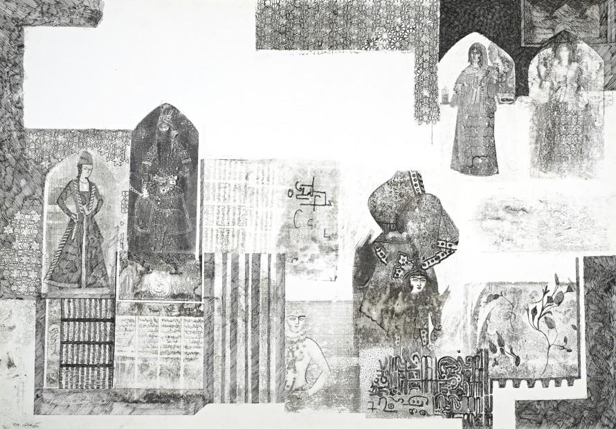 <span class=&#34;artist&#34;><strong>Nargess Hashemi</strong></span>, <span class=&#34;title&#34;><em>Qajar</em>, 2006</span>