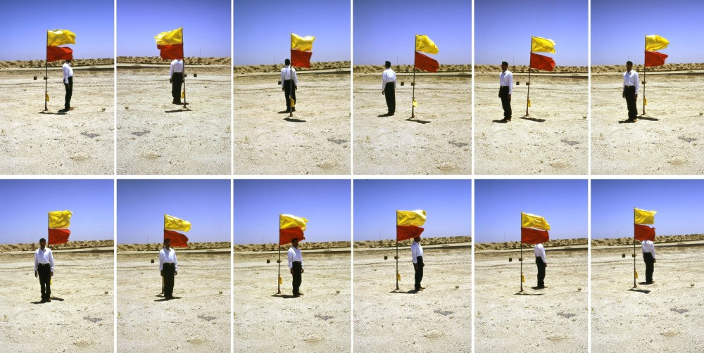 <em>Photographs with a Flag</em>, 1997