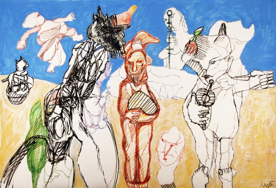 "<span class=""artist""><strong>Farshid Maleki</strong></span>, <span class=""title""><em>Untitled OB02</em>, 2009</span>"