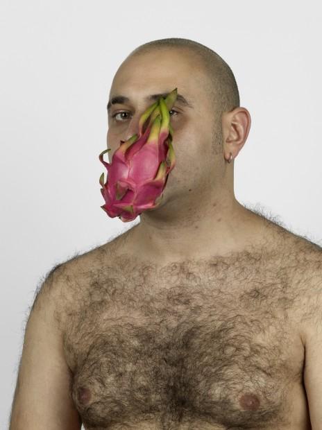 <em>Self portrait with Foreign Fruits and Vegetables</em>, 2011