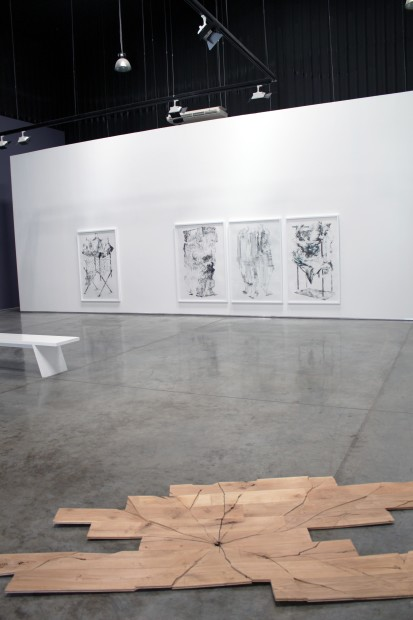 <p><strong>Abdelkader Benchamma</strong>, <em>Corrupted Theories, </em>Installation view</p>