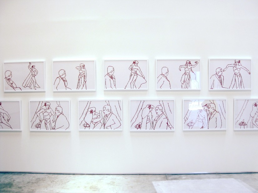 <p><strong>Zoulikha Bouabdellah,</strong> <em>Set Me Free From My Chains,</em> Installation view</p>