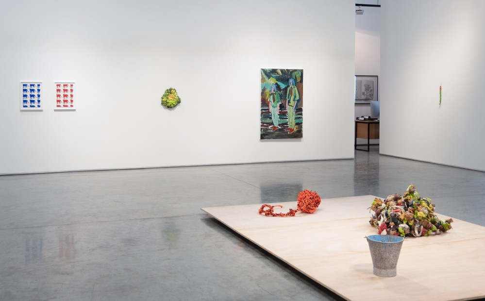 <p><i>Blue, </i>2019, Installation view</p>