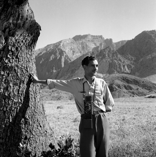 "<div class=""title""><em>Latif at Sulaimaniya, North Iraq, 1957</em>, 2019</div><div class=""medium"">Inkjet print on Hahnemuhle fine art photo rag pearl 320 gsm paper</div><div class=""dimensions"">60 x 60 cm</div><div class=""edition_details"">Edition of 4 (+2 AP)</div><div class=""edition_details""><p class=""p1""><br class=""Apple-interchange-newline"" />Latif Al Ani Collection, courtesy of the Arab Image Foundation and Gallery Isabelle van den Eynde, Dubai. </p></div>"