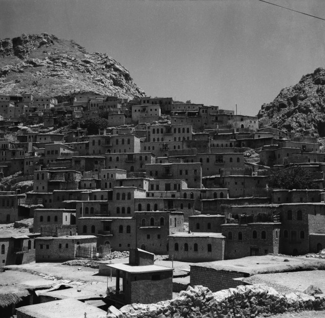 "<div class=""title""><em>Aqrah, Nineveh, 1961</em>, 2019</div><div class=""medium"">Inkjet print on Hahnemuhle fine art photo rag pearl 320 gsm paper</div><div class=""dimensions"">60 x 60 cm</div><div class=""edition_details"">Edition of 4 (+2 AP)</div><div class=""edition_details""><p class=""p1""> </p><p class=""p1"">Latif Al Ani Collection, courtesy of the Arab Image Foundation and Gallery Isabelle van den Eynde, Dubai. </p></div>"