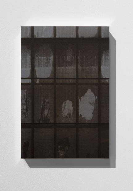 <p><strong>Vikram Divecha</strong></p><p><em>Southwest window facade (Cropped view), Gallery 354, Metropolitan Museum of Art</em>, 2018<br />Inkjet print on Somerset printmaking paper, aluminium frame</p><p>30.5 x 20.3 cm</p>