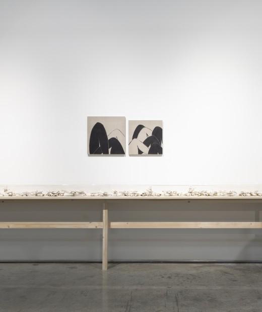"""<div class=""""artist""""><strong>Manal AlDowayan</strong></div><div class=""""title""""><em>The Eternal Return of the Same</em>, 2021</div><div class=""""medium"""">Installation view</div>"""