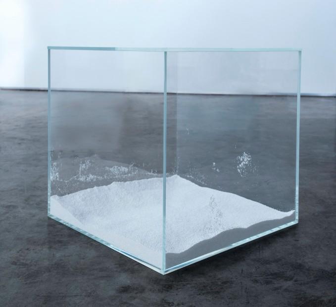 <span class=&#34;artist&#34;><strong>Evariste Richer</strong></span>, <span class=&#34;title&#34;><em>Contemplation Cube</em>, 2010</span>