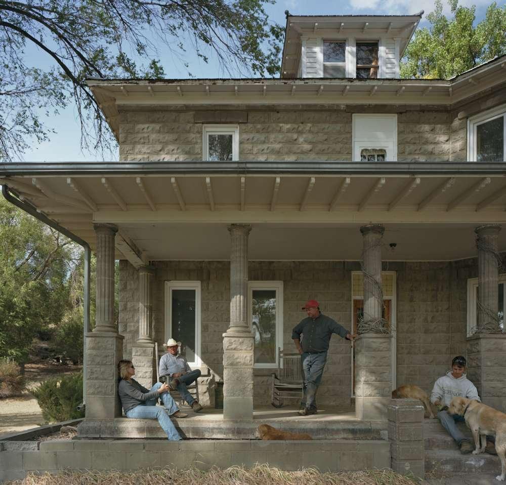 Andrew Moore, My Big House, Abbot Ranch, Cherry County, Nebraska