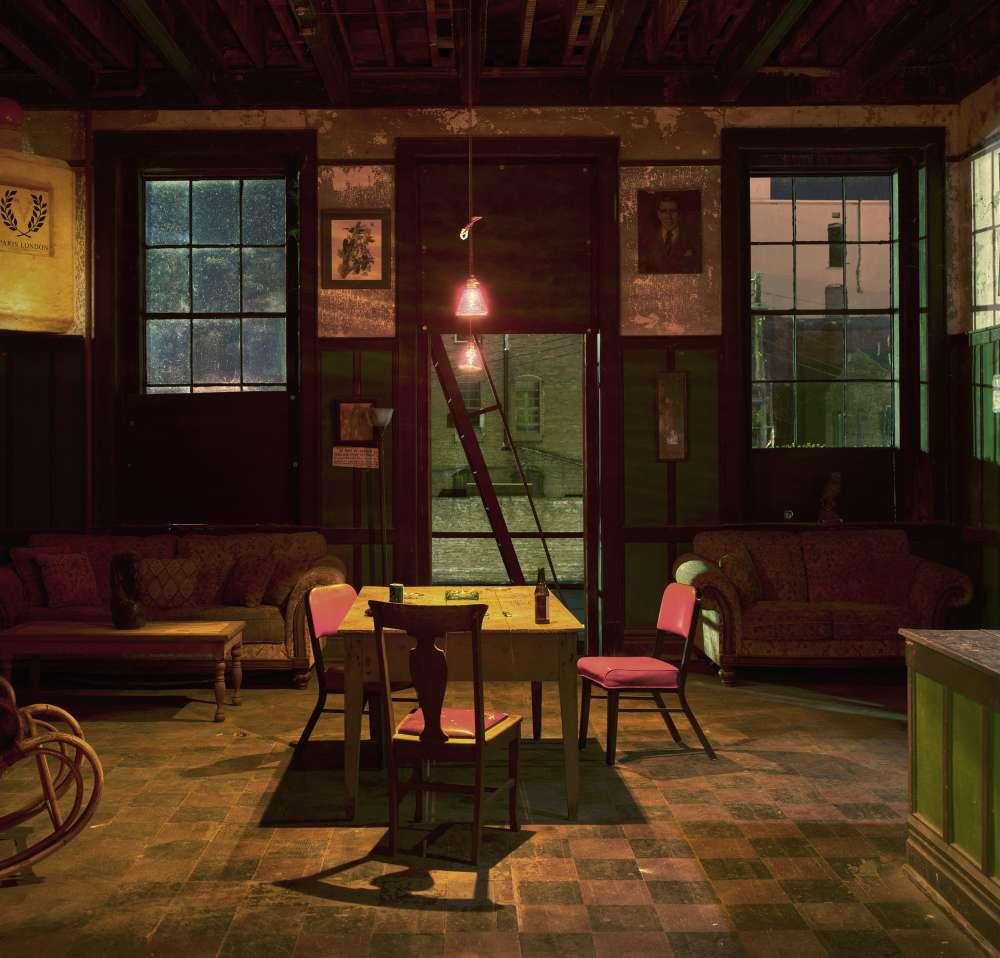 Andrew Moore, Back Room, Harmony Club, Selma, AL, 2017 - Artwork 31666