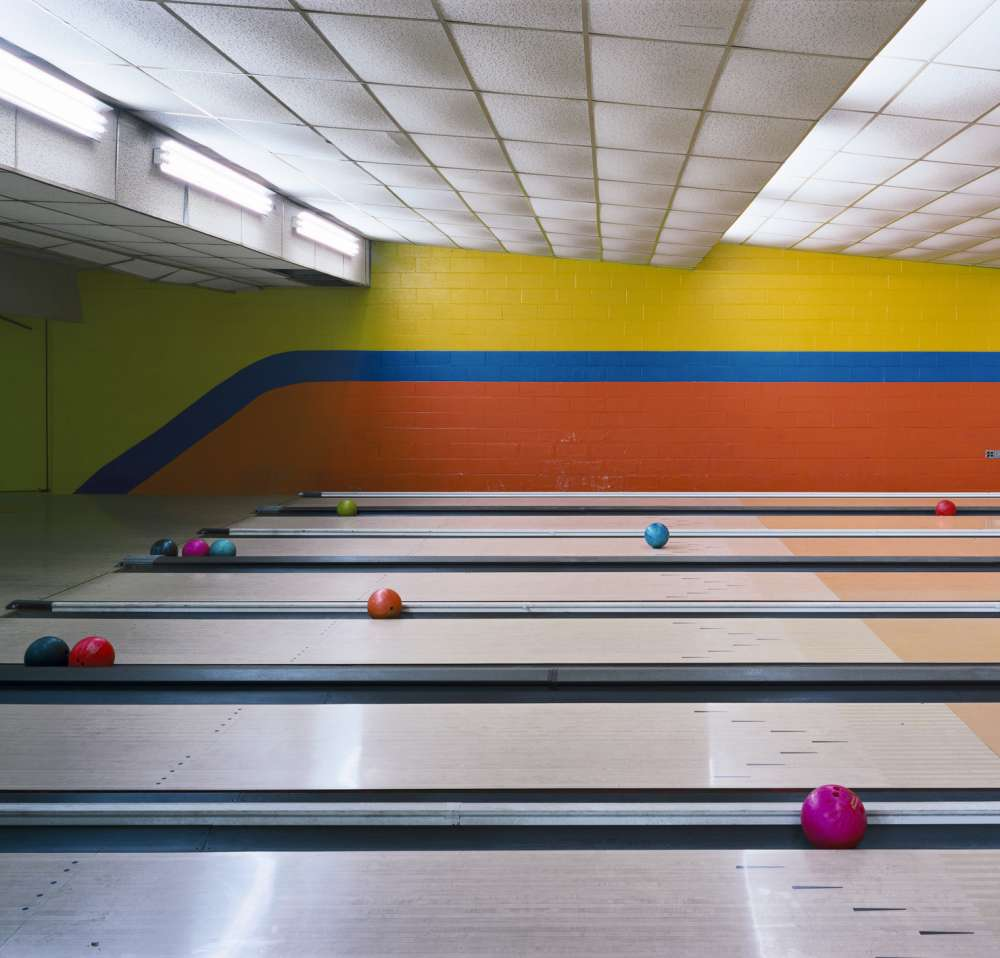 Andrew Moore, Bowling Lanes, Building 785, 2003-2004 - Artwork 27085