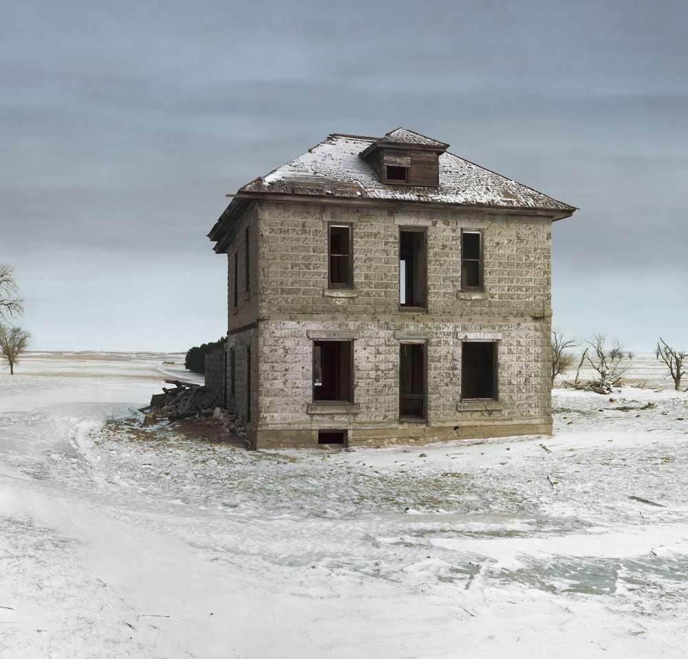 Andrew Moore, Murray House, Sears Roebuck Rockfaced Wizard No. 52, Sheridan County, Nebraska, 2013 - Artwork 27119