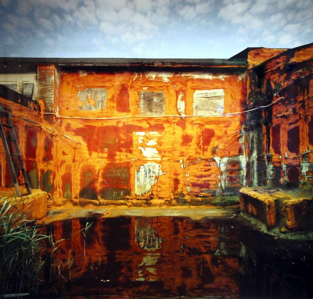 Andrew Moore, Casino Rooftop, Asbury Park, NJ, 2000 - Artwork 27086