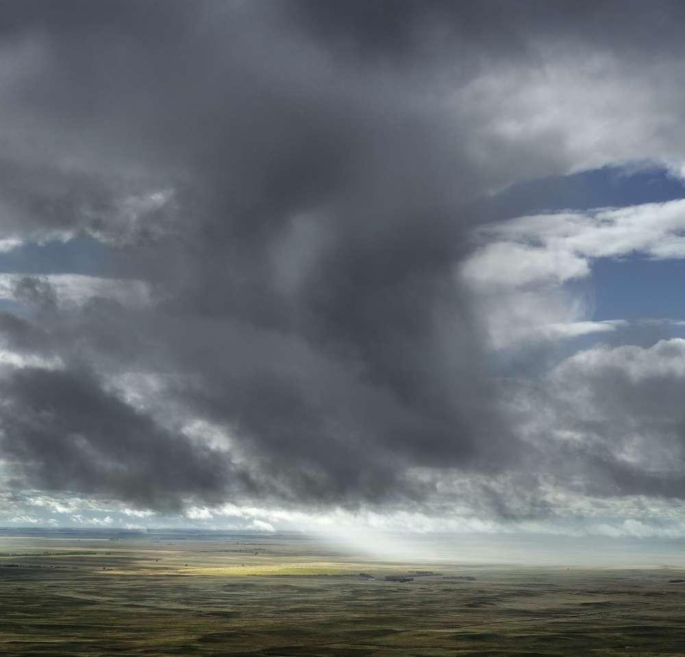 Andrew Moore, Sun Through Rain, Dawes County, Nebraska, 2013 - Artwork 27118