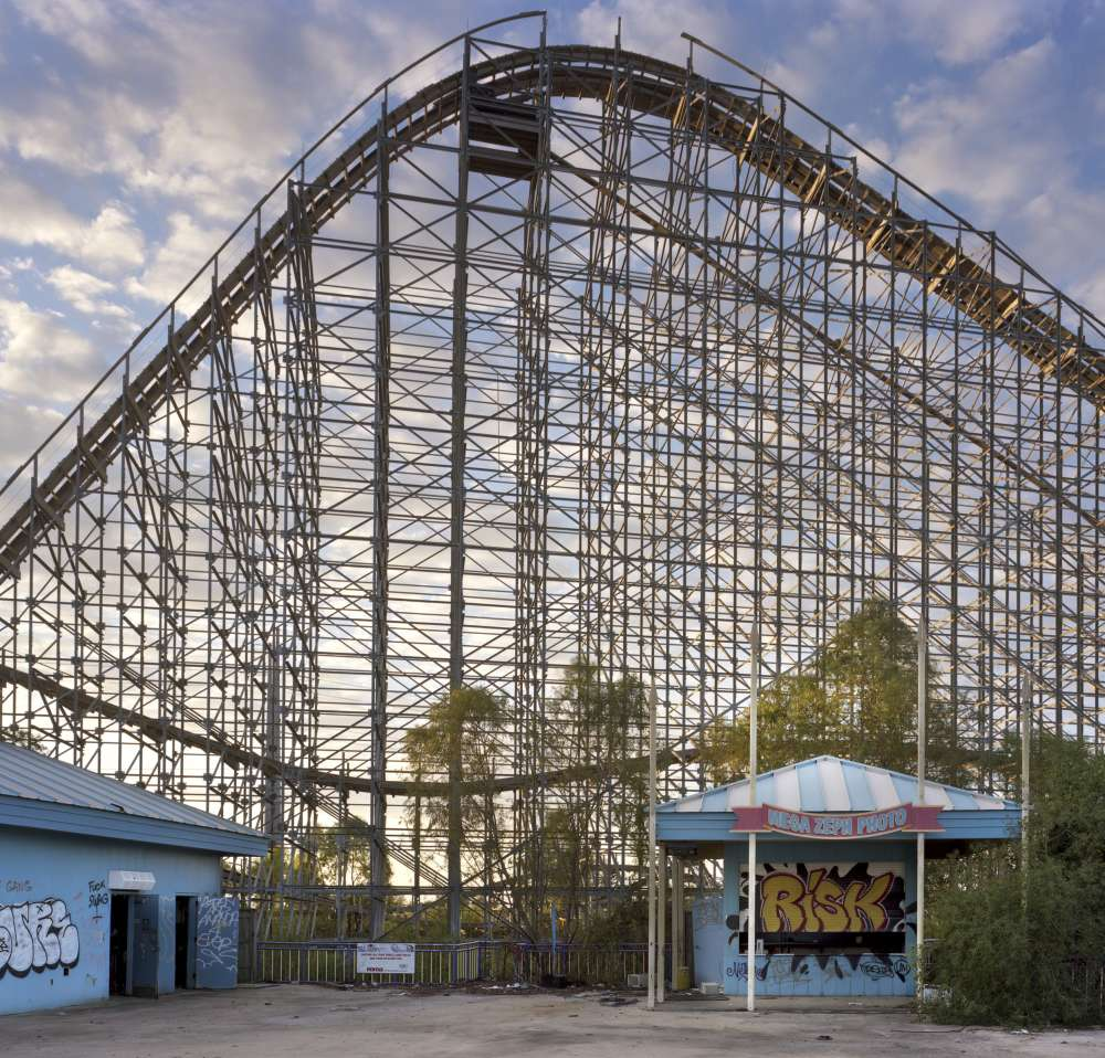 Andrew Moore, Six Flags, New Orleans, Louisiana , 2014
