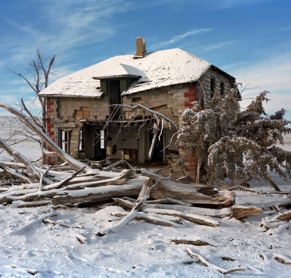 Andrew Moore, Grossenbacher Homestead, Sheridan County, Nebraska, 2011 - Artwork 27122