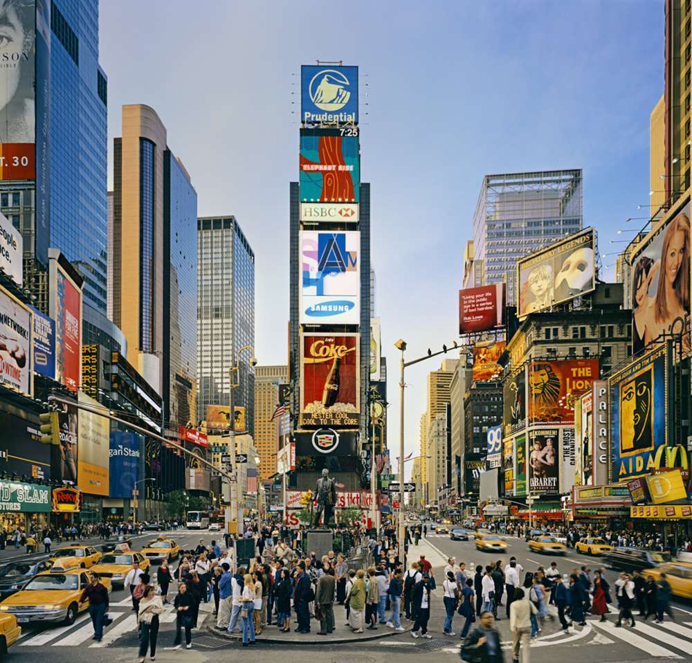 Andrew Moore, Duffy Square (Cohen Square), Times Square, New York, 2002 - Artwork 27087