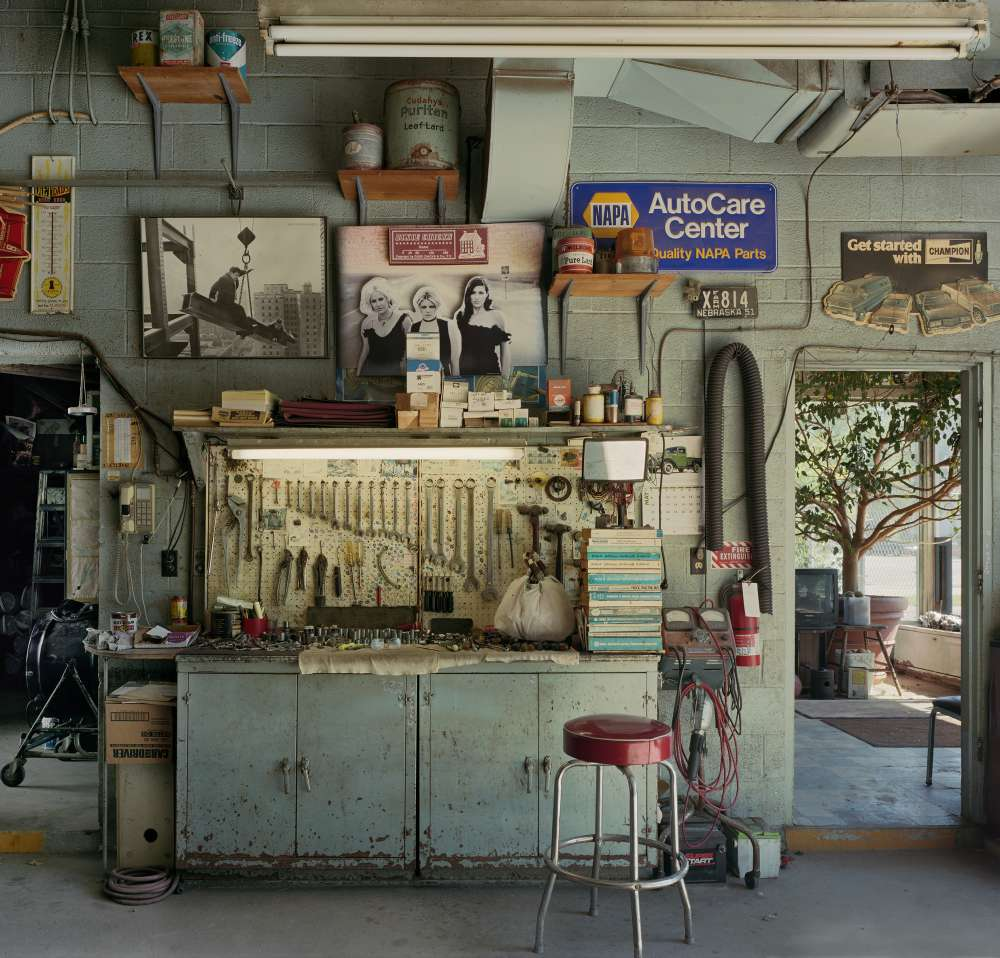 Andrew Moore, A-1 Auto Garage, Douglas County, Nebraska, 2011