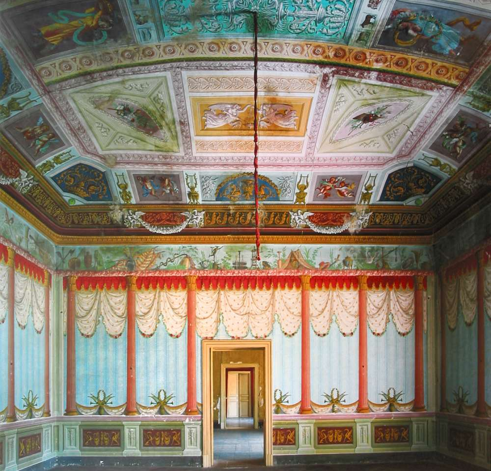 Andrew Moore, Baron's Library, Noto, Italy, 2004 - Artwork 27089