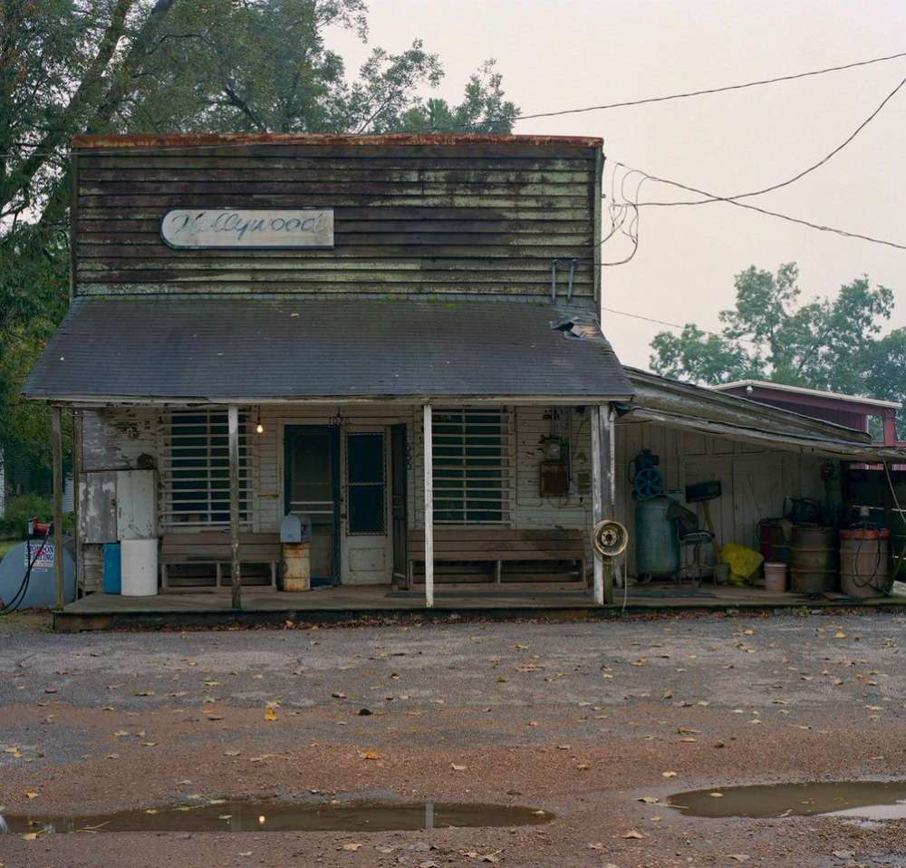 Andrew Moore, Hollywood Shack Facade, Hollywood, MS, 2014