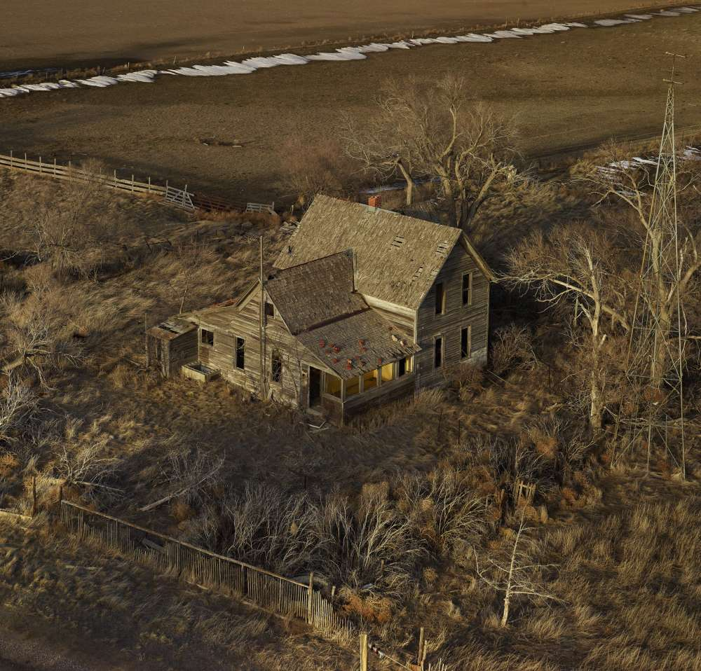 Andrew Moore, The Yellow Porch, Sheridan County, Nebraska, 2011 - Artwork 27121