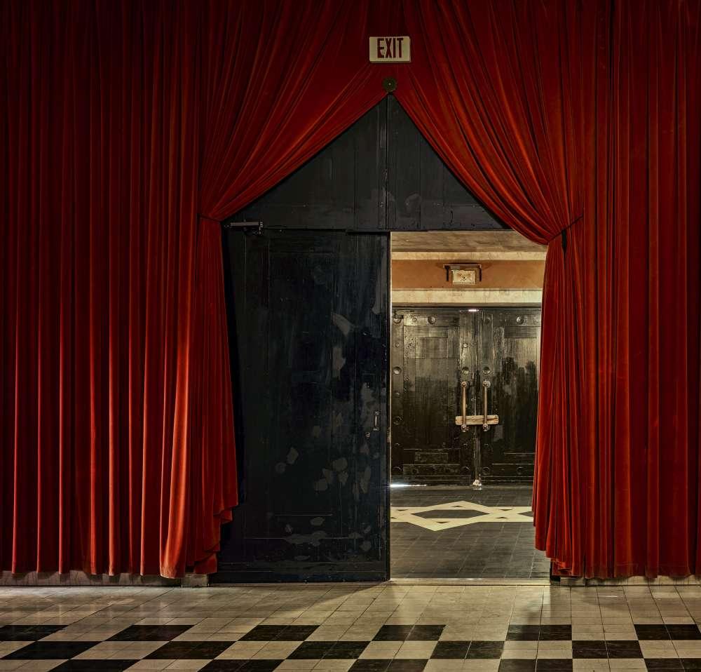 Andrew Moore, Black Door, The Temple Downtown, Mobile, AL, 2017 - Artwork 31659