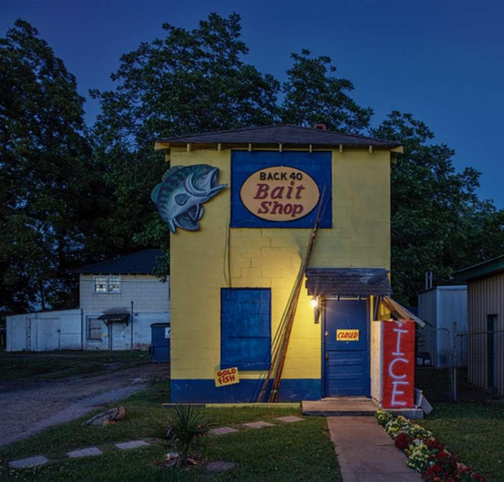 Andrew Moore, Bait Bait Shop, Demopolis AL, 2017 - Artwork 32257