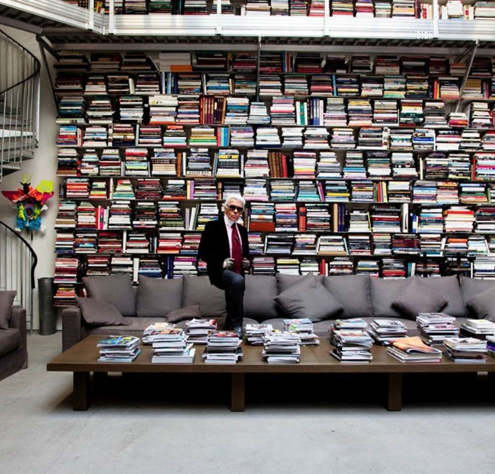 Todd Selby - Karl in His Library