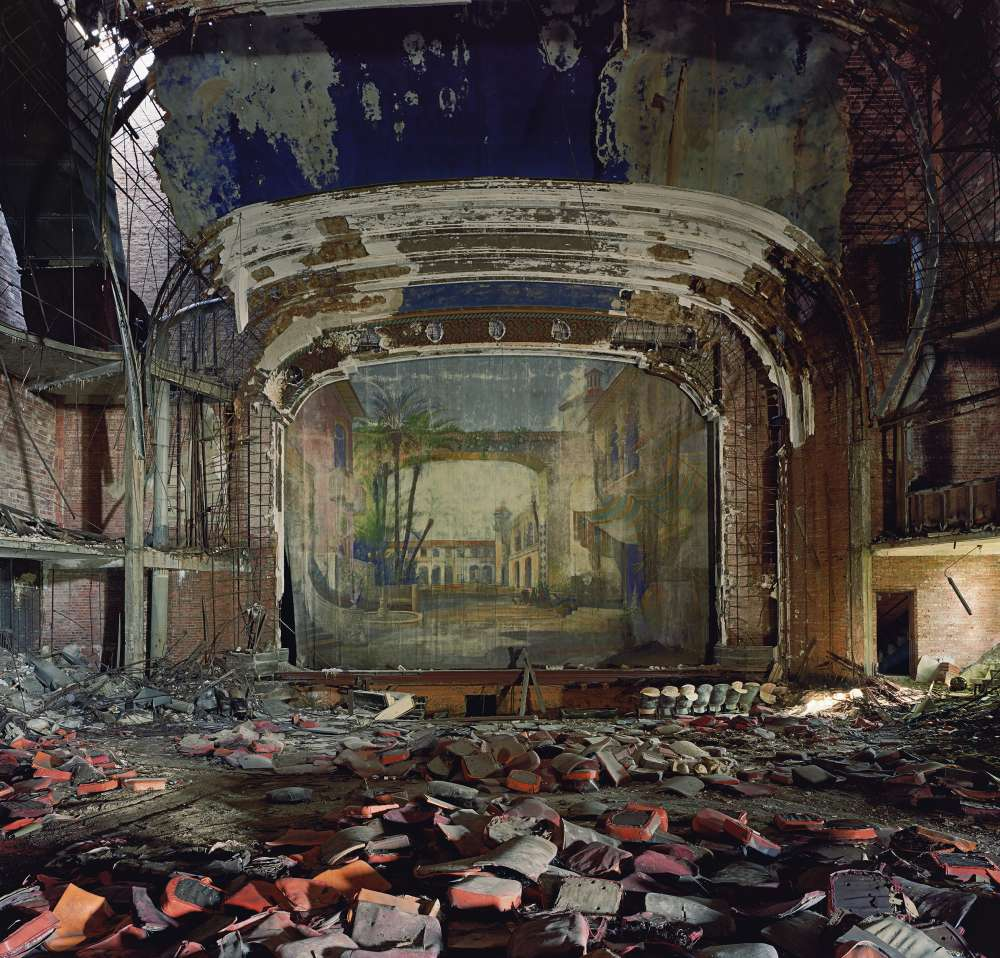 Andrew Moore, Palace Theater, Gary Indiana, 2008 - Artwork 29974