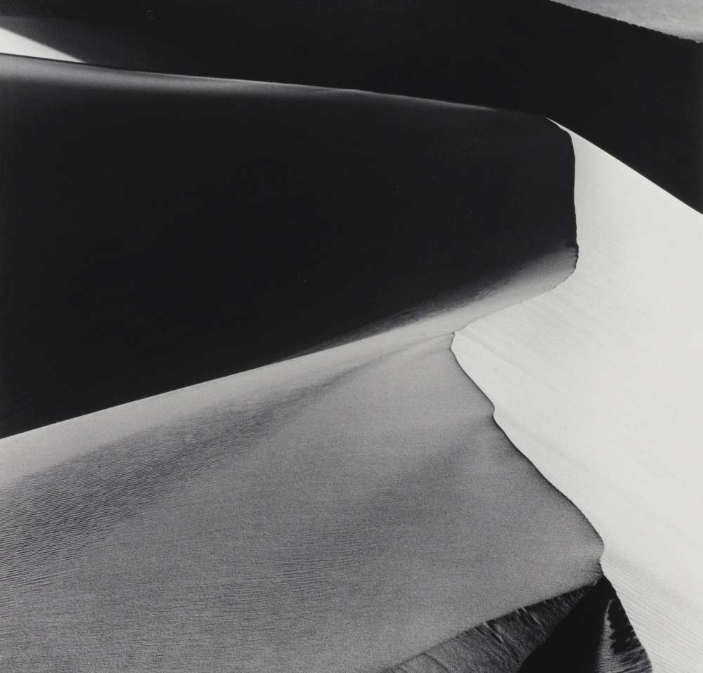 Ansel Adams - Sand Dunes, Sunrise, Death Valley, California