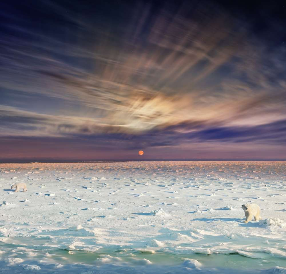 Stephen Wilkes - The Great July Melt, Ilulissat, Greenland, Day to Night