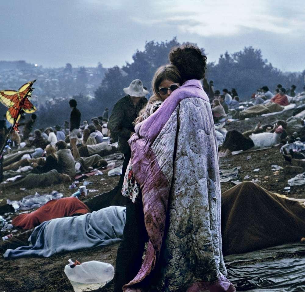 Burk Uzzle - Woodstock Album Cover