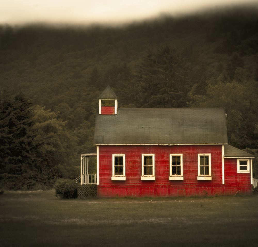Jack Spencer - Red Schoolhouse, Orick, California
