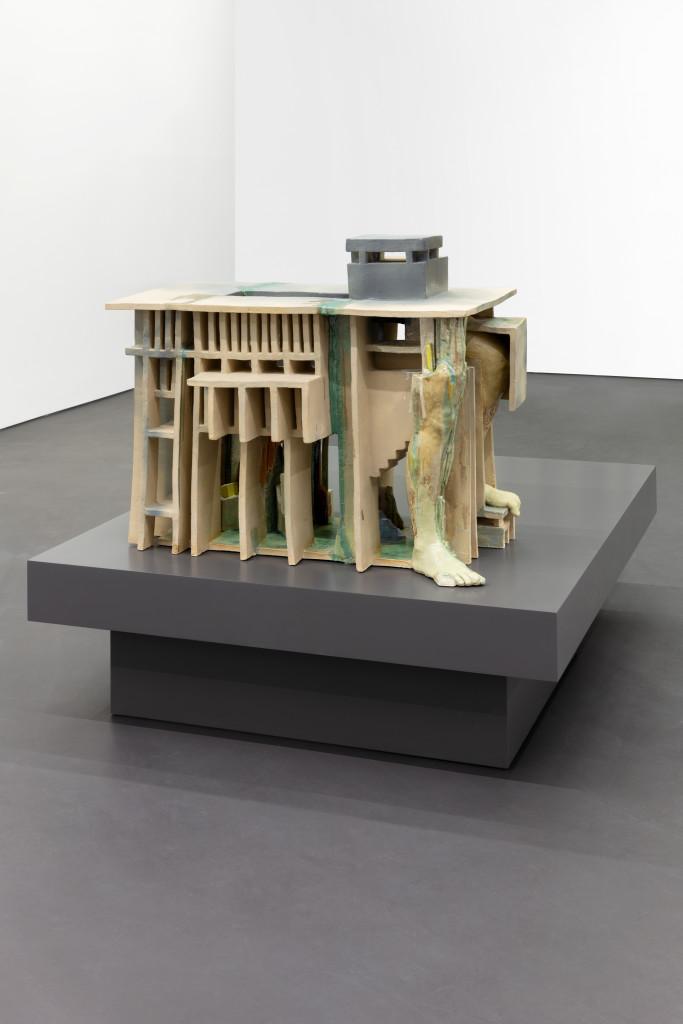 Isa Melsheimer, false ruins and lost innocence 2, 2020