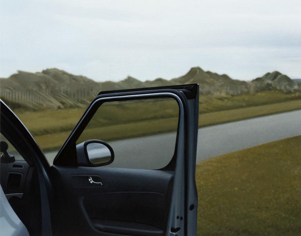 Andrew Grassie, Car Door 1, 2020