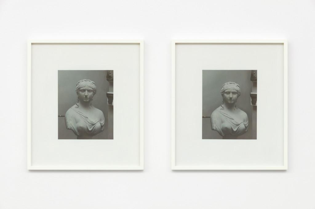 Andrew Grassie, Sculpture 1, Sculpture 2, 2019
