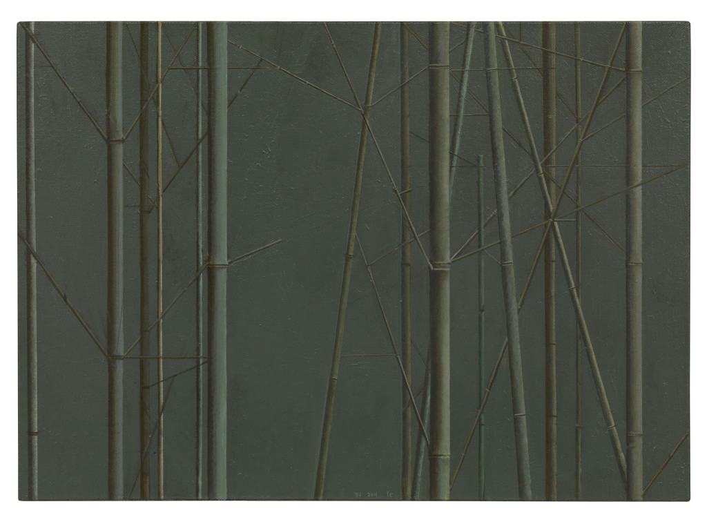 Composition with Bamboo No. 4