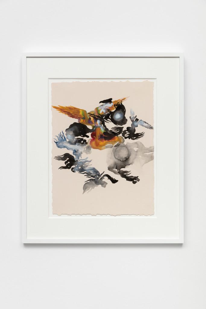 Shahzia Sikander, Empire Follows Art: States of Agitation 4, 2018