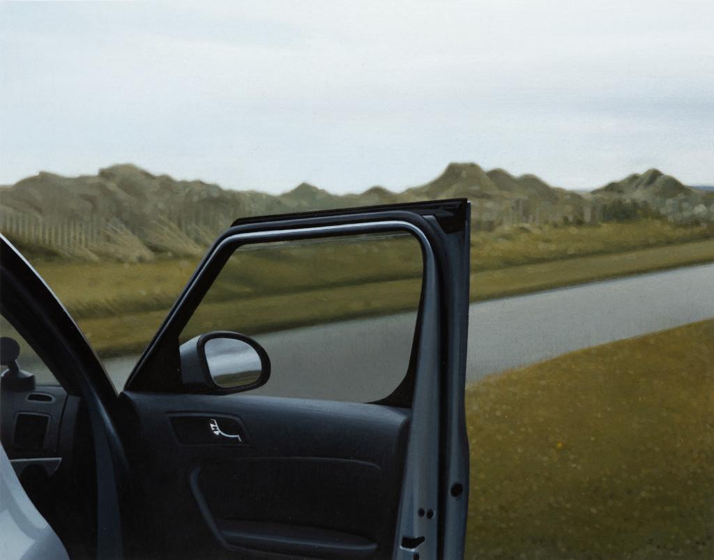 Andrew Grassie, Car Door 2, 2020